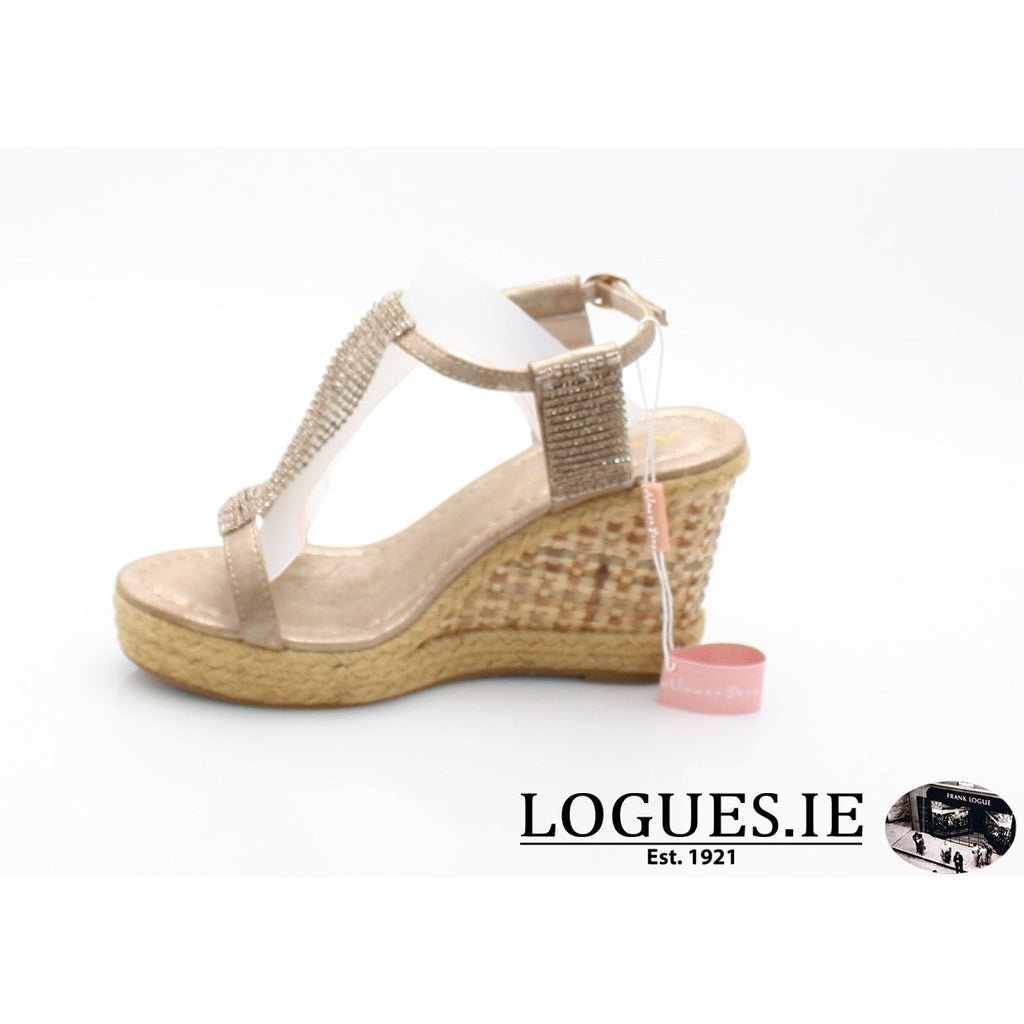 v18375  ALMA EN PENALadiesLogues Shoesoporto bronze / 40 = 6.5 UK