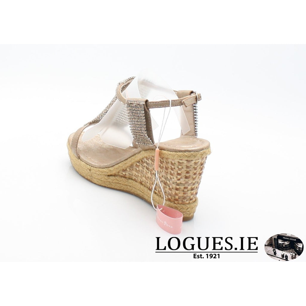 v18375  ALMA EN PENALadiesLogues Shoesoporto bronze / 41 = 7 UK
