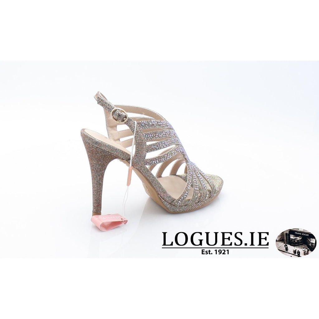 V18208 ALMA EN PENALadiesLogues ShoesNOIR BRONZE / 42 = 8 UK