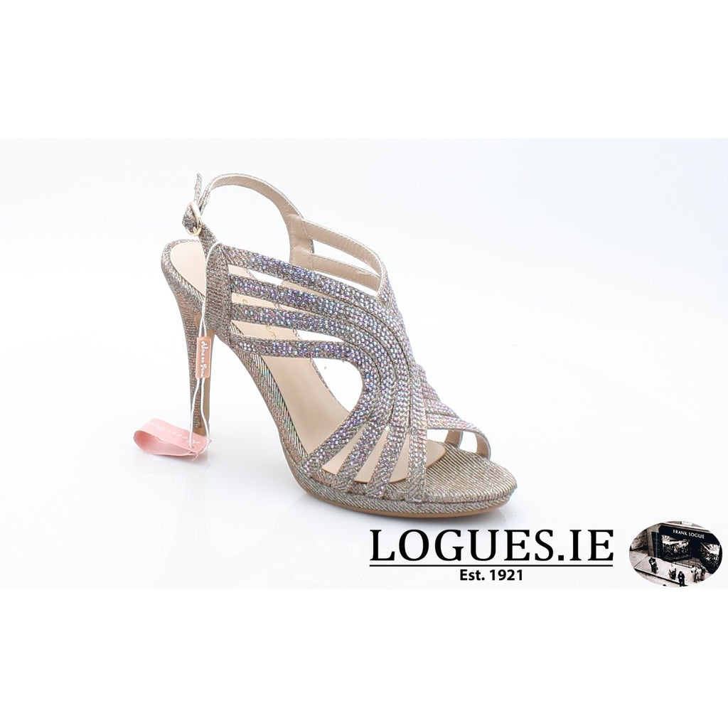 V18208 ALMA EN PENALadiesLogues ShoesNOIR BRONZE / 37 = 4 UK