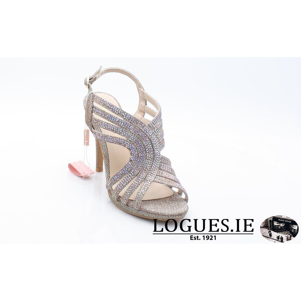 V18208 ALMA EN PENALadiesLogues ShoesNOIR BRONZE / 38 = 5UK