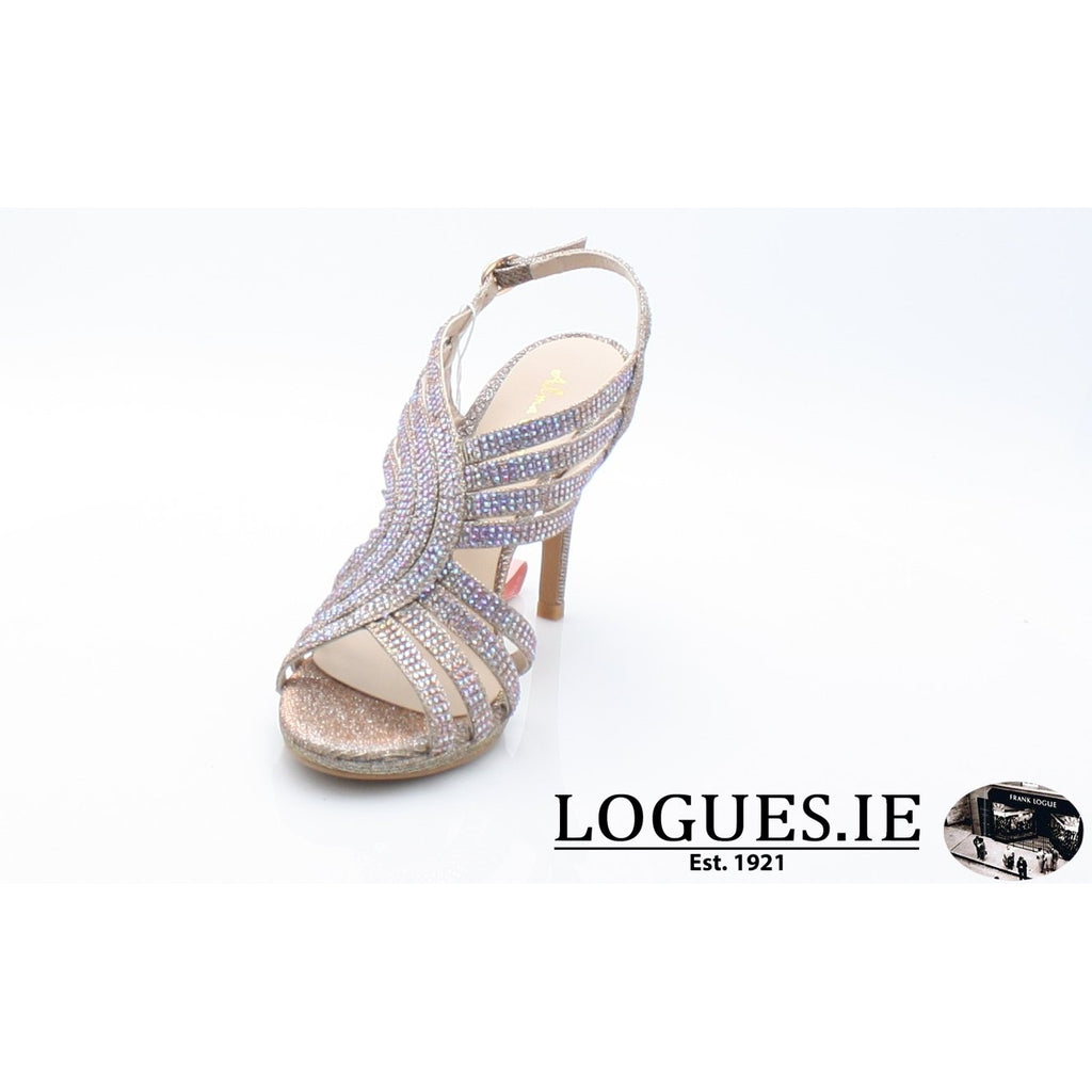 V18208 ALMA EN PENALadiesLogues ShoesNOIR BRONZE / 40 = 6.5 UK