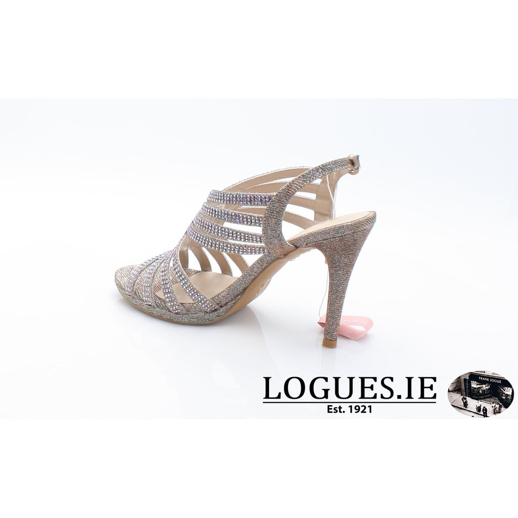 V18208 ALMA EN PENALadiesLogues ShoesNOIR BRONZE / 41 = 7 UK