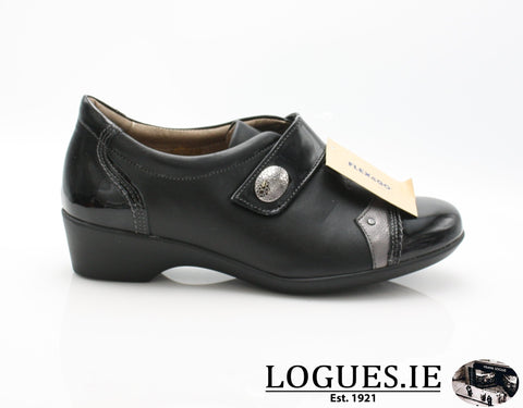 ALYSSUM W18 FLEX&GOLadiesLogues ShoesBLACK / 36 = 3 UK