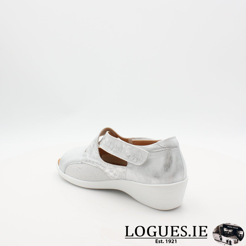 ANNA SOFTMODE S19LadiesLogues ShoesSILVER / 6.5 UK - 40 EU -8.5 US