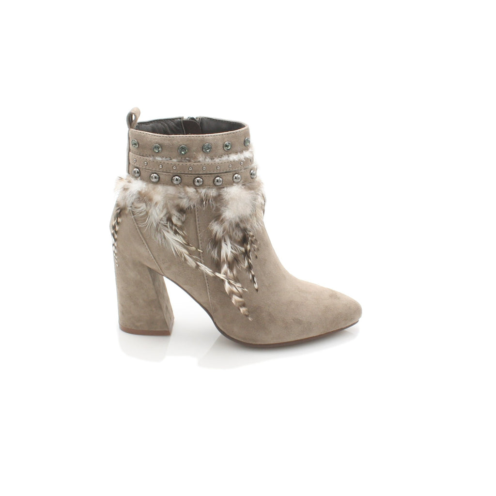 I17060 ALMA EN PENA-Ladies-ALMA EN PENA-SUEDE TAUPE-36 = 3 UK-Logues Shoes