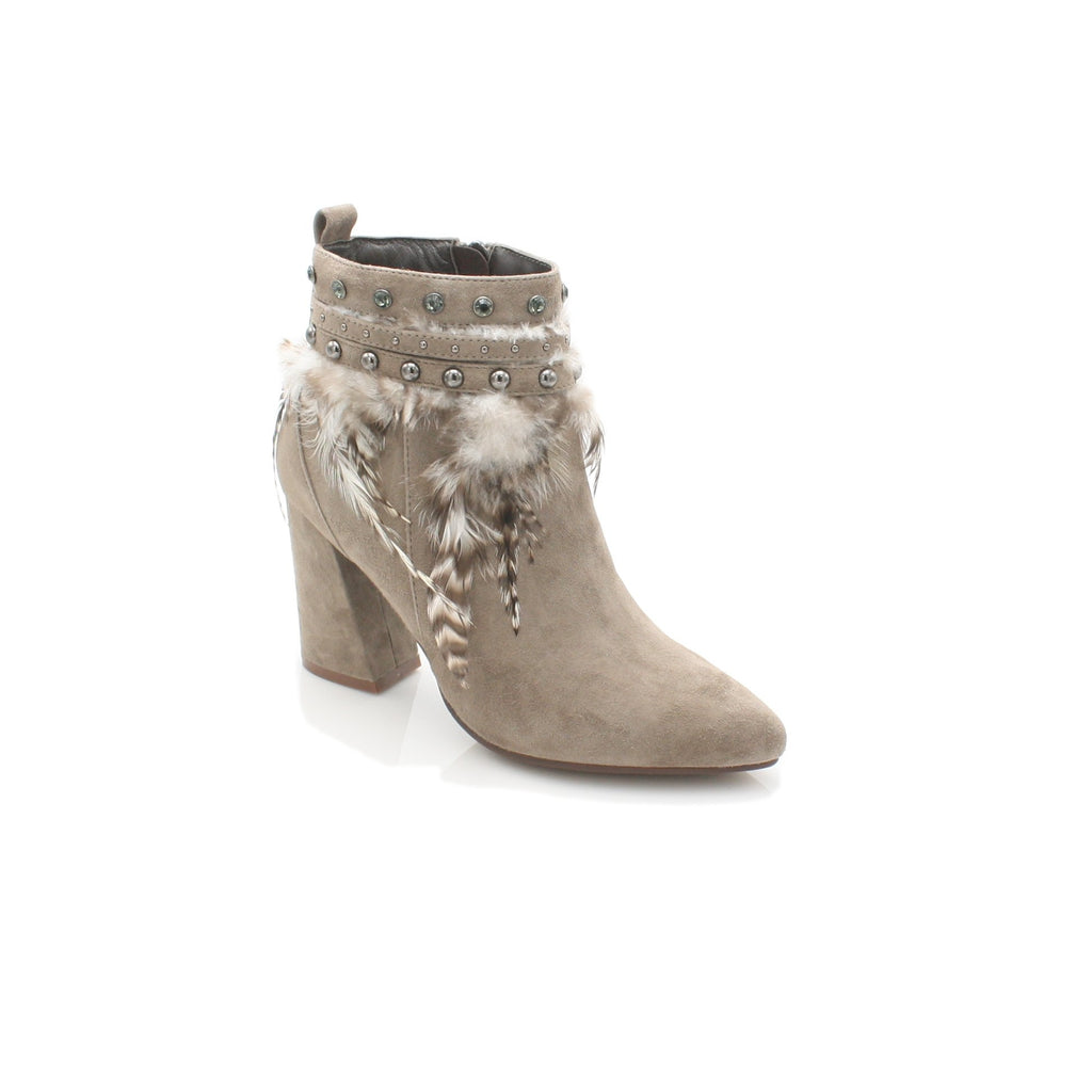 I17060 ALMA EN PENA-Ladies-ALMA EN PENA-SUEDE TAUPE-38 = 5UK-Logues Shoes