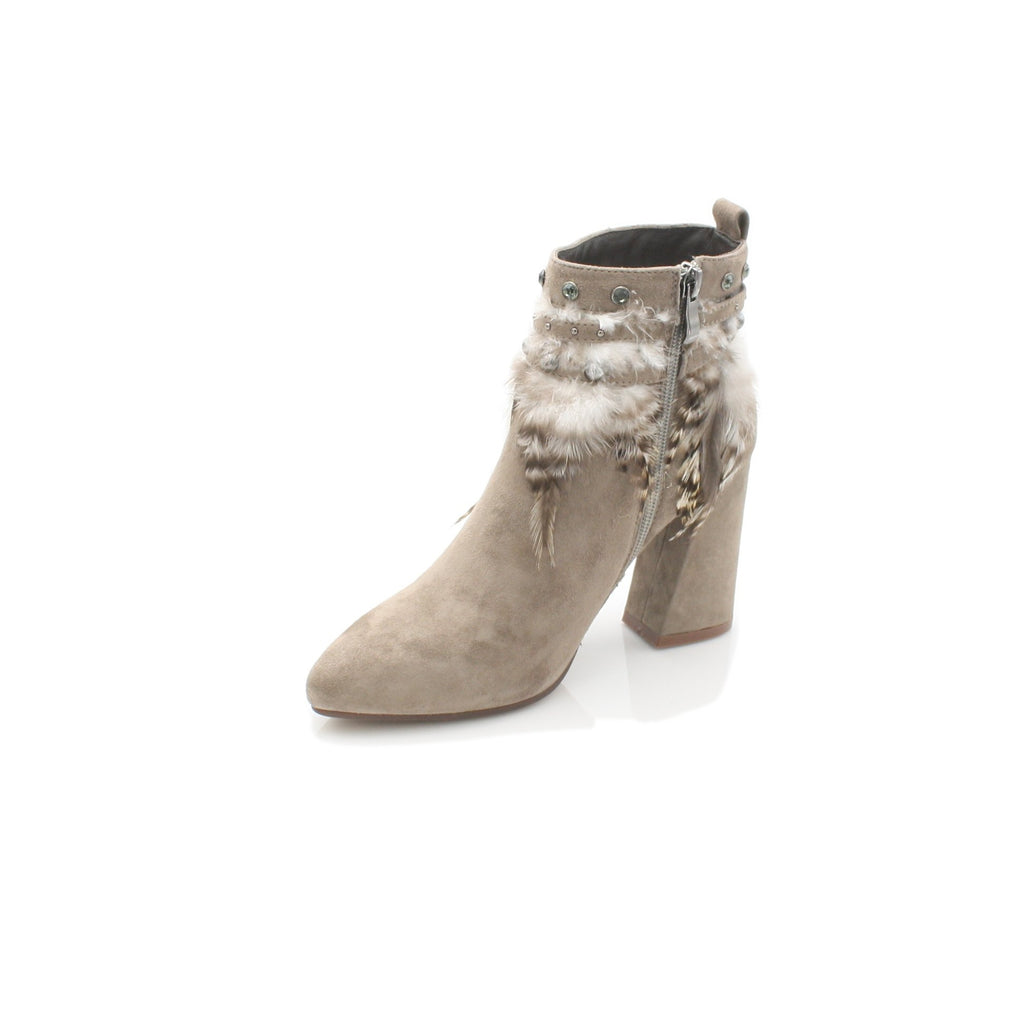 I17060 ALMA EN PENA-Ladies-ALMA EN PENA-SUEDE TAUPE-40 = 6.5 UK-Logues Shoes