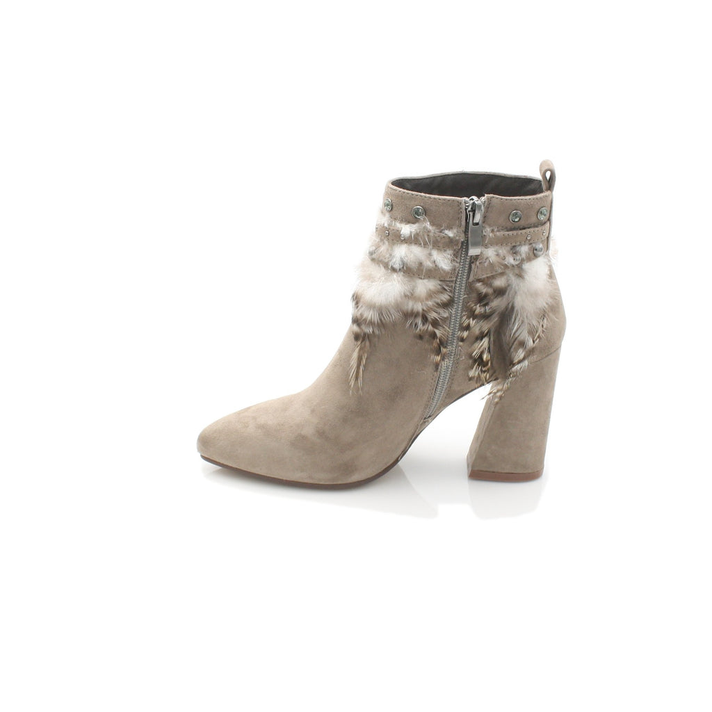 I17060 ALMA EN PENA-Ladies-ALMA EN PENA-SUEDE TAUPE-41 = 7 UK-Logues Shoes