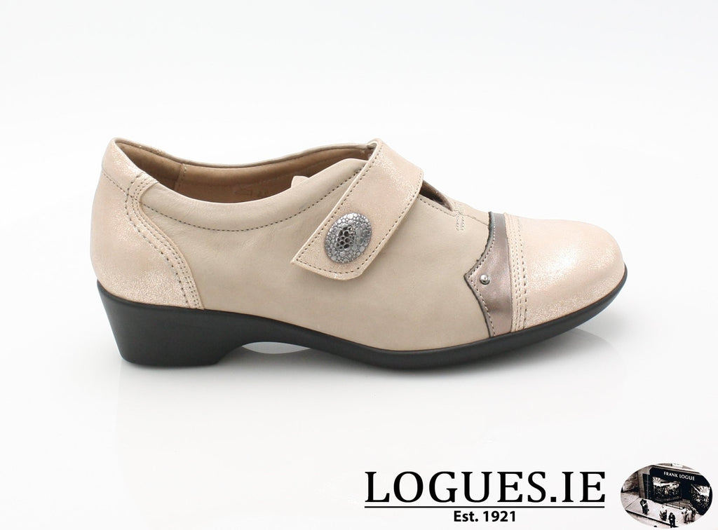 ALYSSUM SS18 FLEX & GO-Ladies-FLEX& GO FOOTWEAR-BEIGE-36 = 3 UK-Logues Shoes