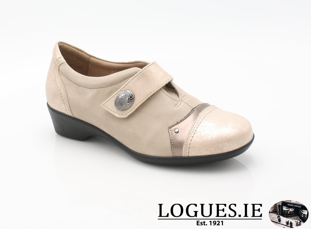 ALYSSUM SS18 FLEX & GO-Ladies-FLEX& GO FOOTWEAR-BEIGE-37 = 4 UK-Logues Shoes