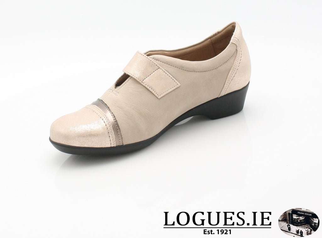 ALYSSUM SS18 FLEX & GO-Ladies-FLEX& GO FOOTWEAR-BEIGE-41 = 7 UK-Logues Shoes