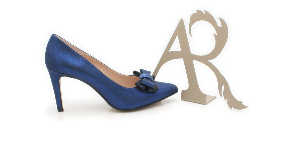 SAVOY ANA ROMAN-Ladies-ANA ROMAN SHOES-AZUL 17054-37 = 4 UK-Logues Shoes