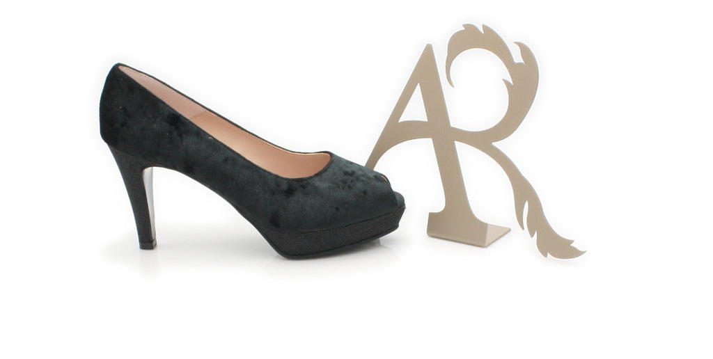 PRAGA ANA ROMAN-Ladies-ANA ROMAN SHOES-NEGRO 17061-36 = 3 UK-Logues Shoes