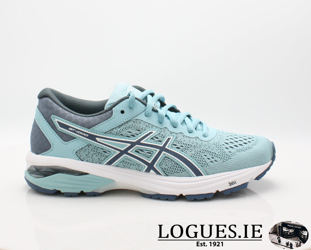 GT-1000 6 T7A9N-Ladies-ASICS SPORTS-1456 PORCELAIN BLUE-3.5 uk 5.5 us-Logues Shoes
