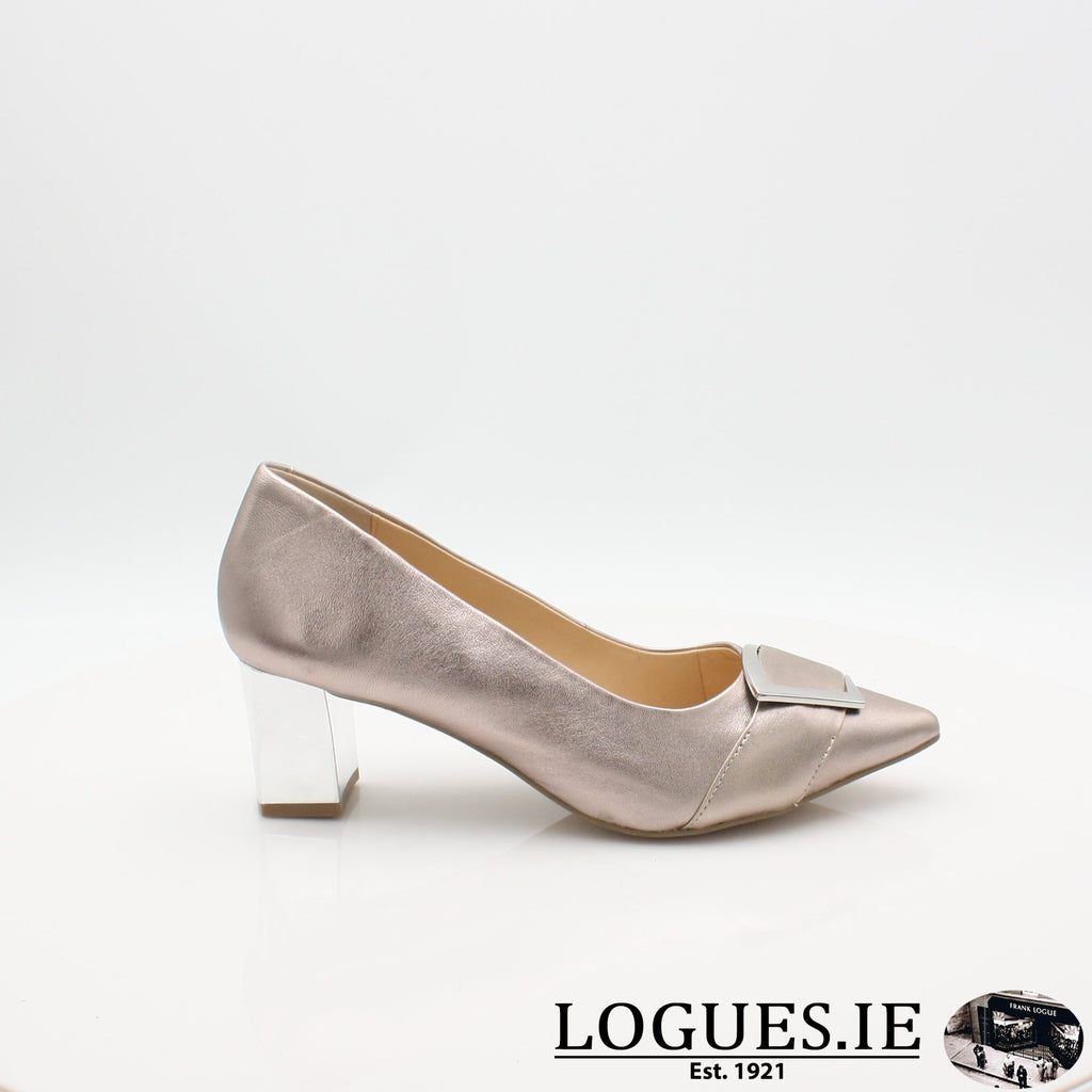 22405 CAPRICE S19LadiesLogues ShoesROSE SATIN / 7.5 UK 41.5 EU - 9.5 US