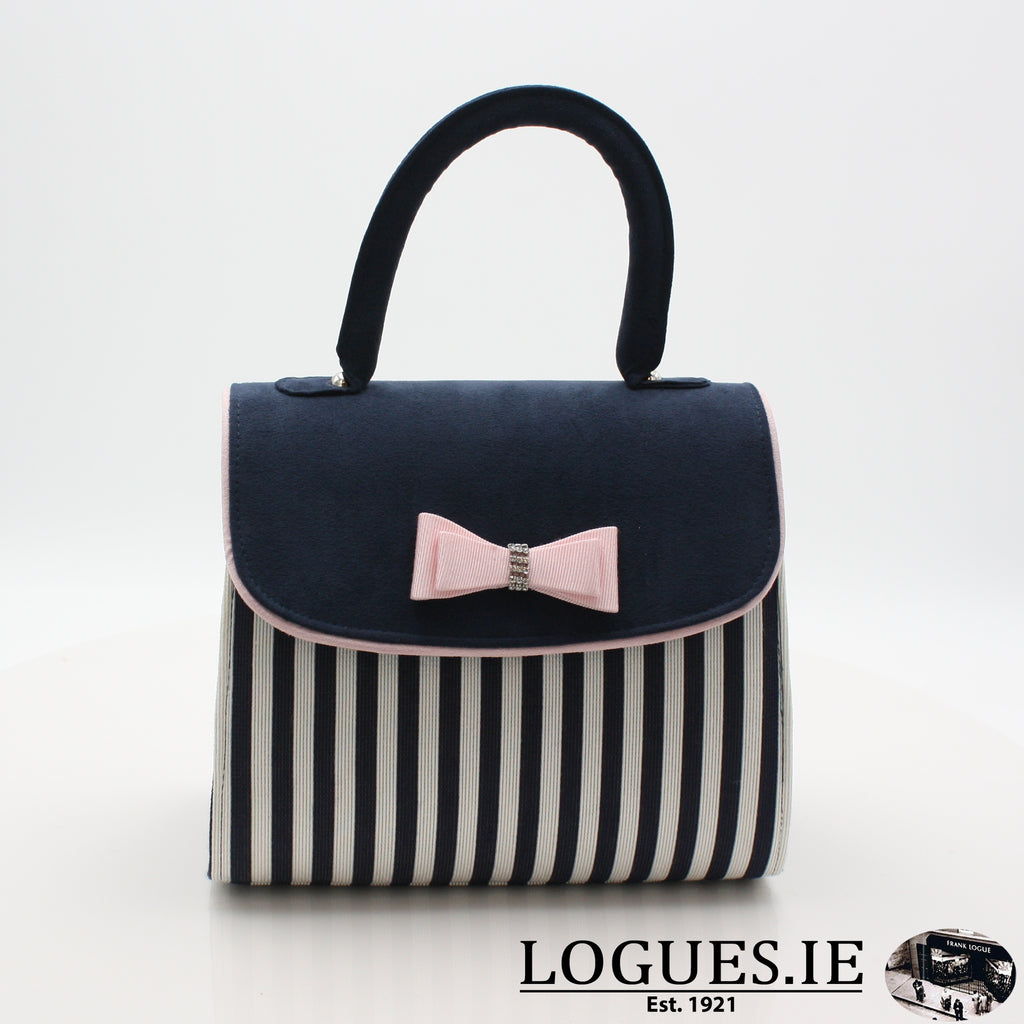BANJUL RUBY SHOO S19-bags-RUBY SHOO-NAVY STRIPE-ONE SIZE-Logues Shoes