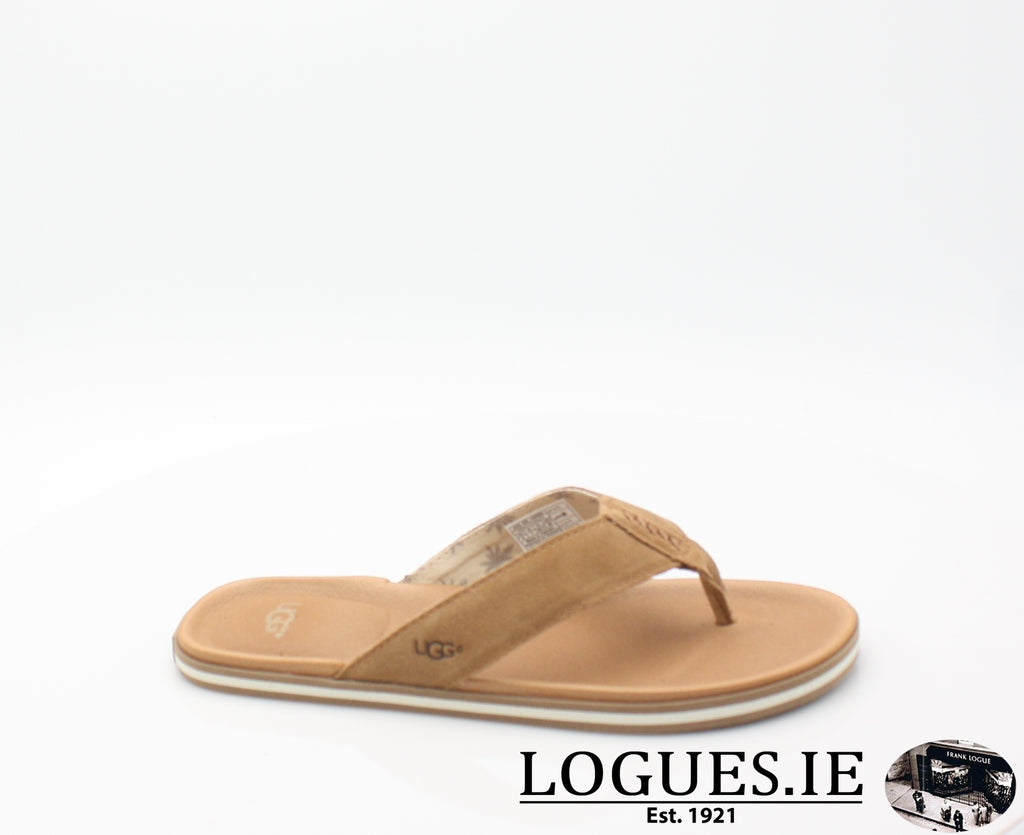 UGGS BEACH FLIPMensLogues ShoesCHESTNUT / 6 UK =39.5  EU= 7 US