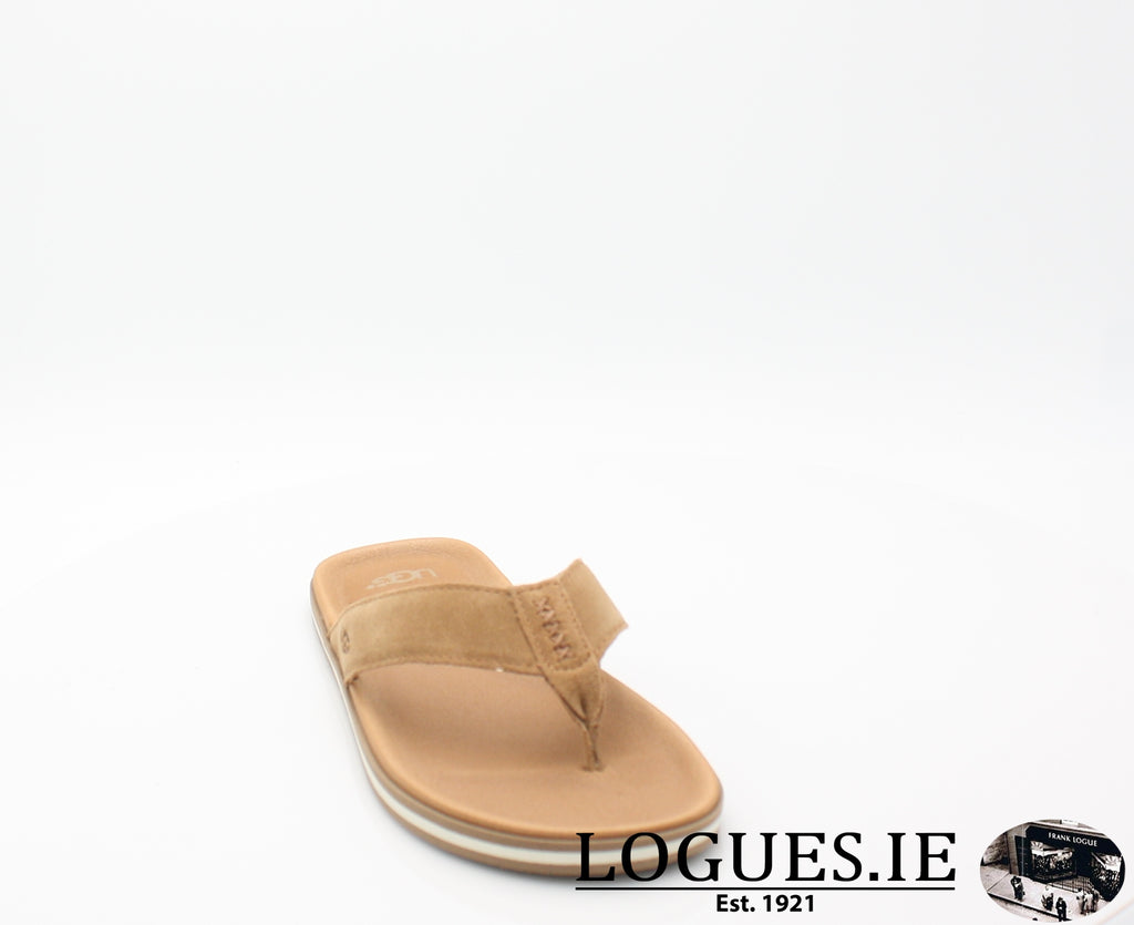 UGGS BEACH FLIPMensLogues ShoesCHESTNUT / 8 UK = 42 EU =9 US