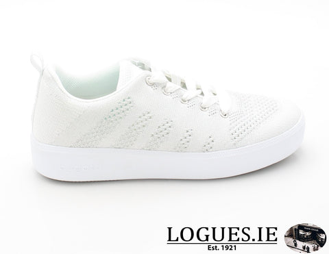 40704 BUGATTI SS18LadiesLogues Shoes2013 WHITE - SILVER / 37 = 4 UK