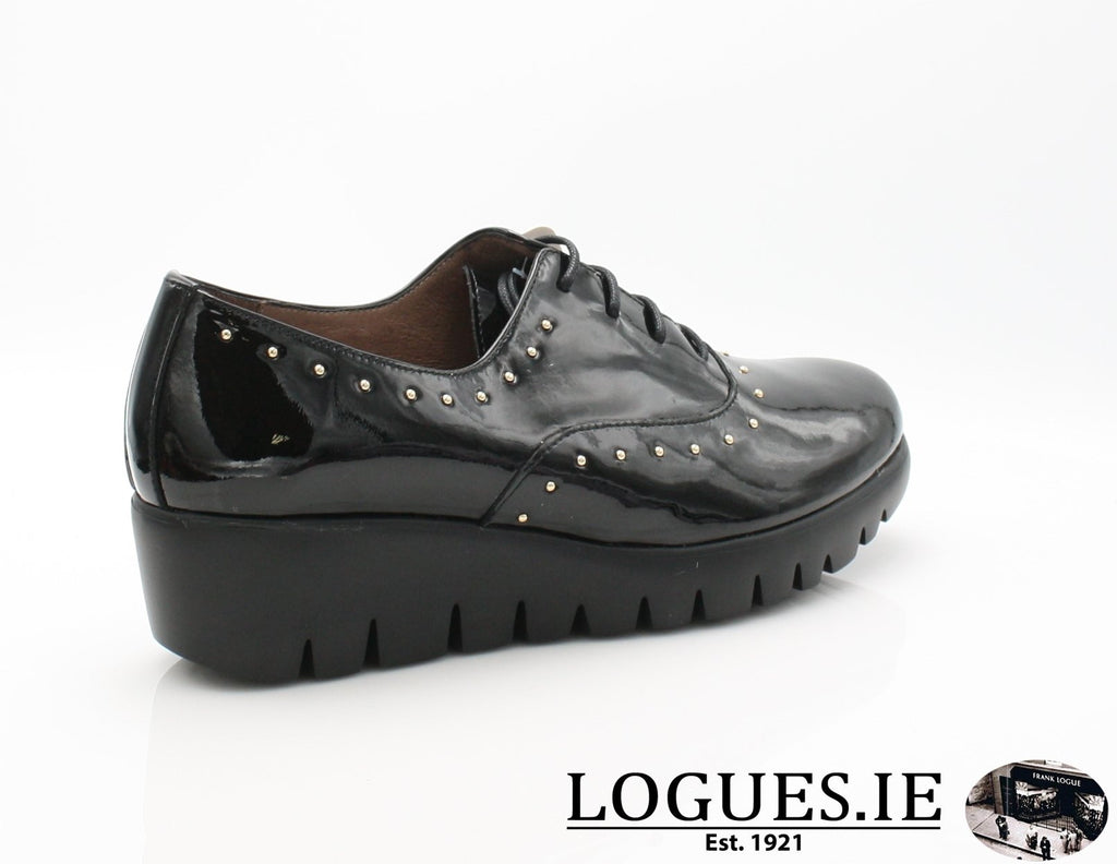 WONDERS C-33133 AW18LadiesLogues ShoesCHAROL NEGRO / 43 = 9 UK