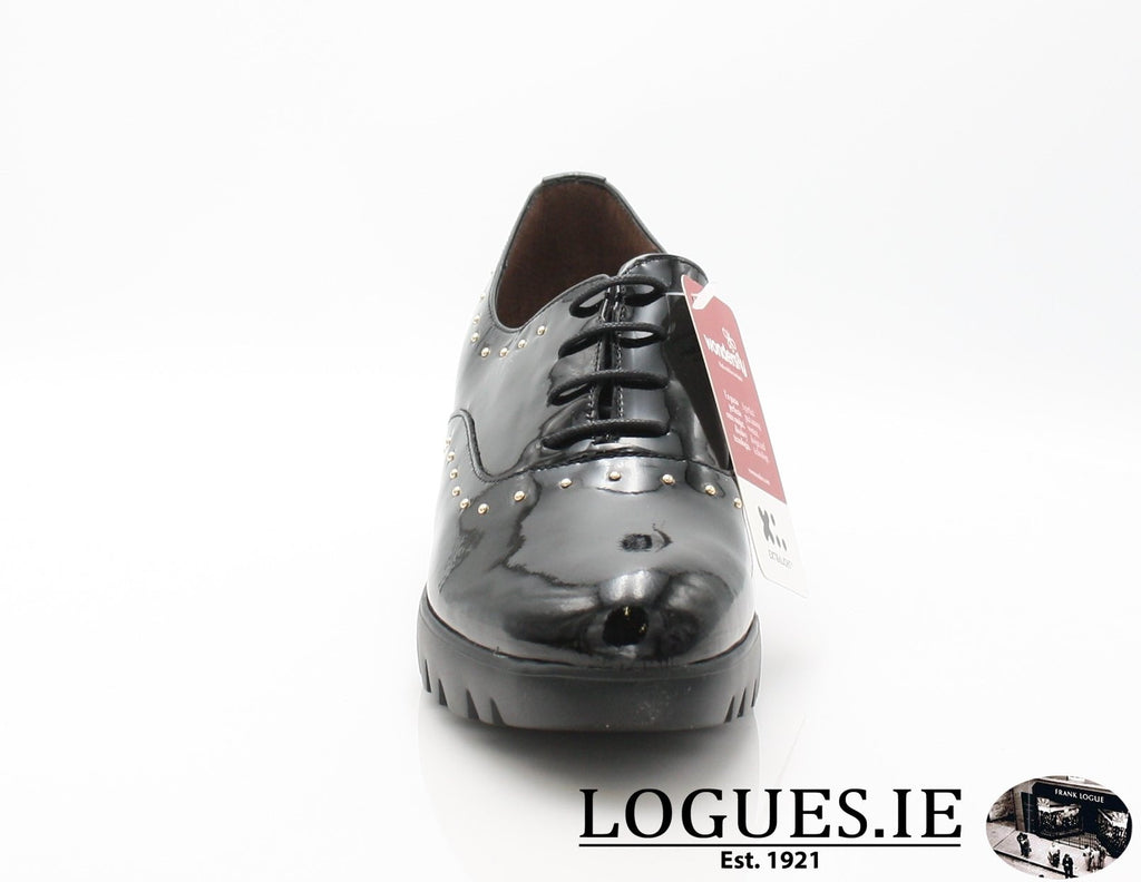 WONDERS C-33133 AW18LadiesLogues ShoesCHAROL NEGRO / 38 = 5UK