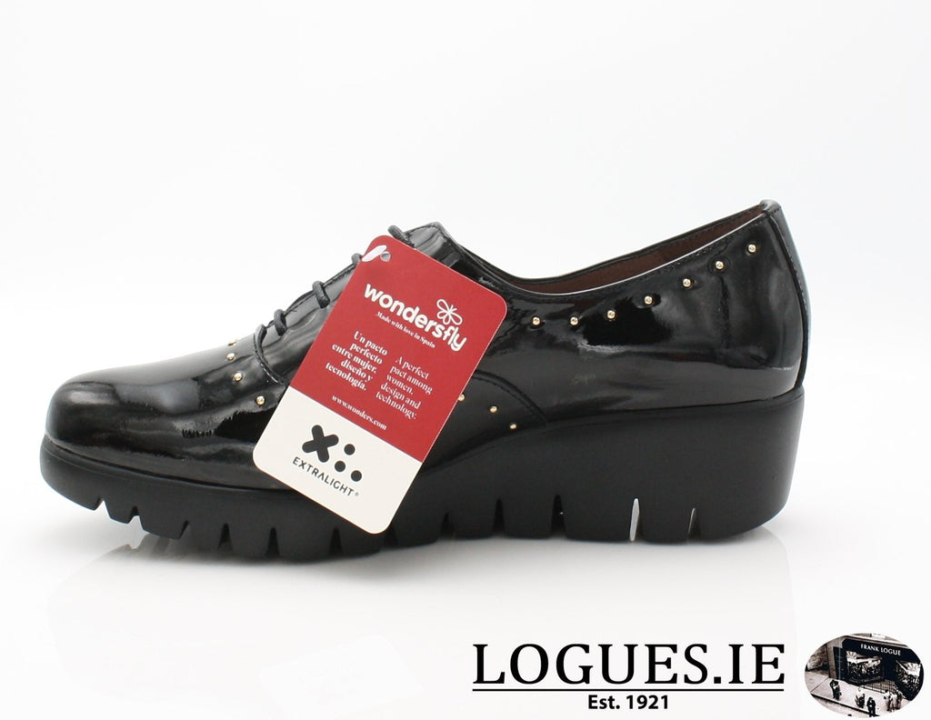 WONDERS C-33133 AW18LadiesLogues ShoesCHAROL NEGRO / 40 = 6.5/7 UK
