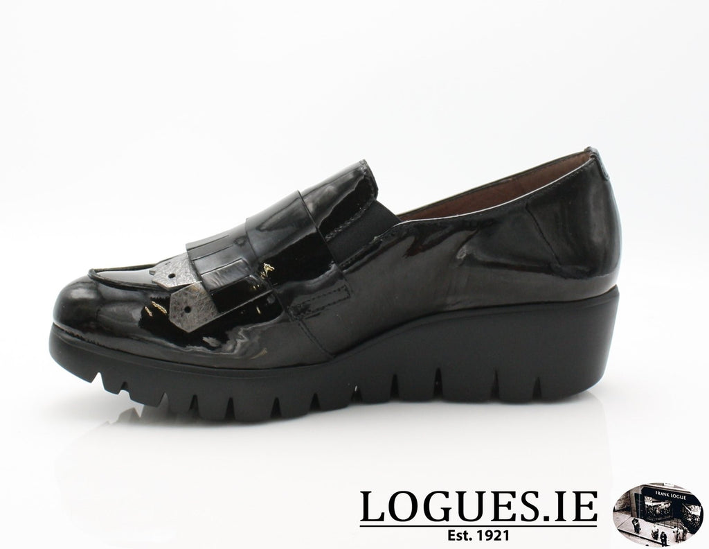 C-33137 WONDERS AW18-Ladies-WONDERS-CHAROL NEGRO-36 = 3 UK-Logues Shoes