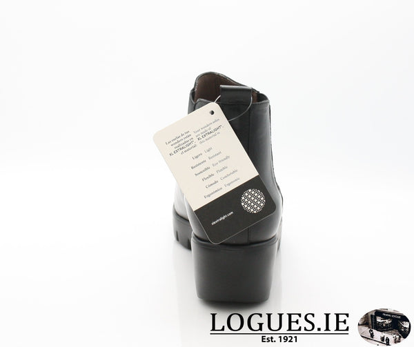 WONDERS C33139  AW18LadiesLogues ShoesVELVET NEGRO / 42 = 8 UK
