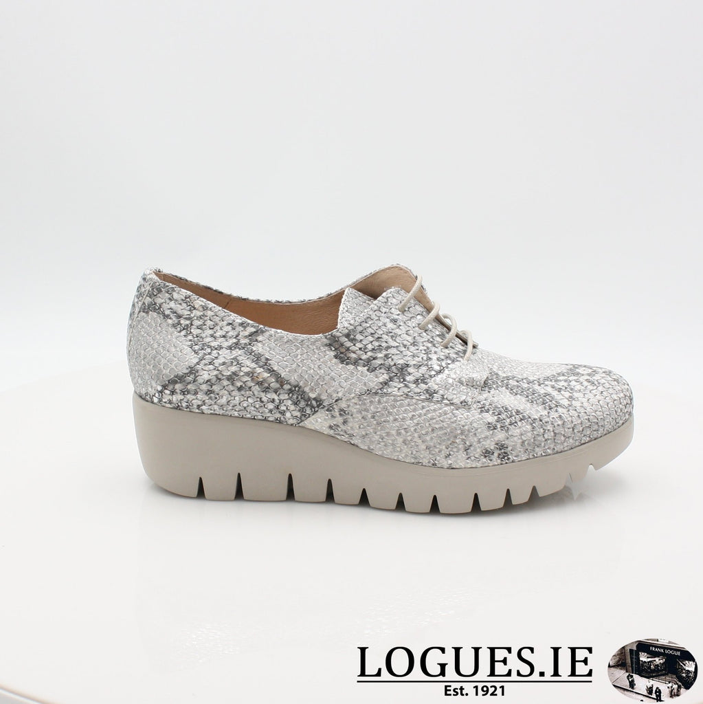 C33153 WONDERS S19-Ladies-WONDERS-PITONE PLATA-4 UK -37 EU - 6 US-Logues Shoes