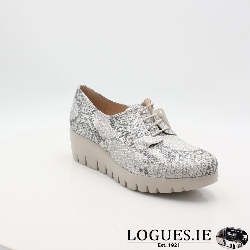 C33153 WONDERS S19-Ladies-WONDERS-PITONE PLATA-4.5 UK - 37.5 EU - 6.5 US-Logues Shoes