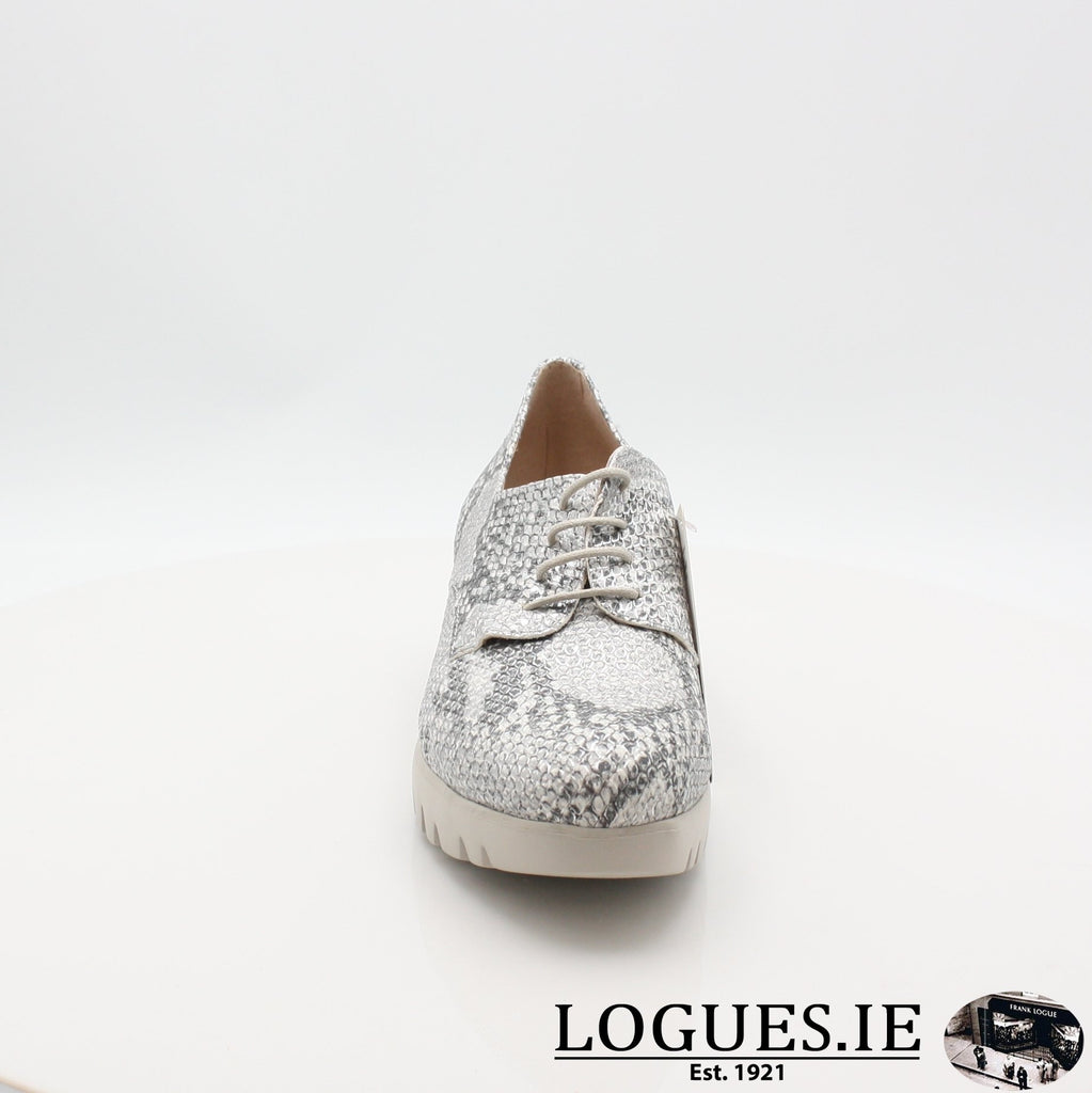 C33153 WONDERS S19-Ladies-WONDERS-PITONE PLATA-5 UK- 38 EU- 7 US-Logues Shoes