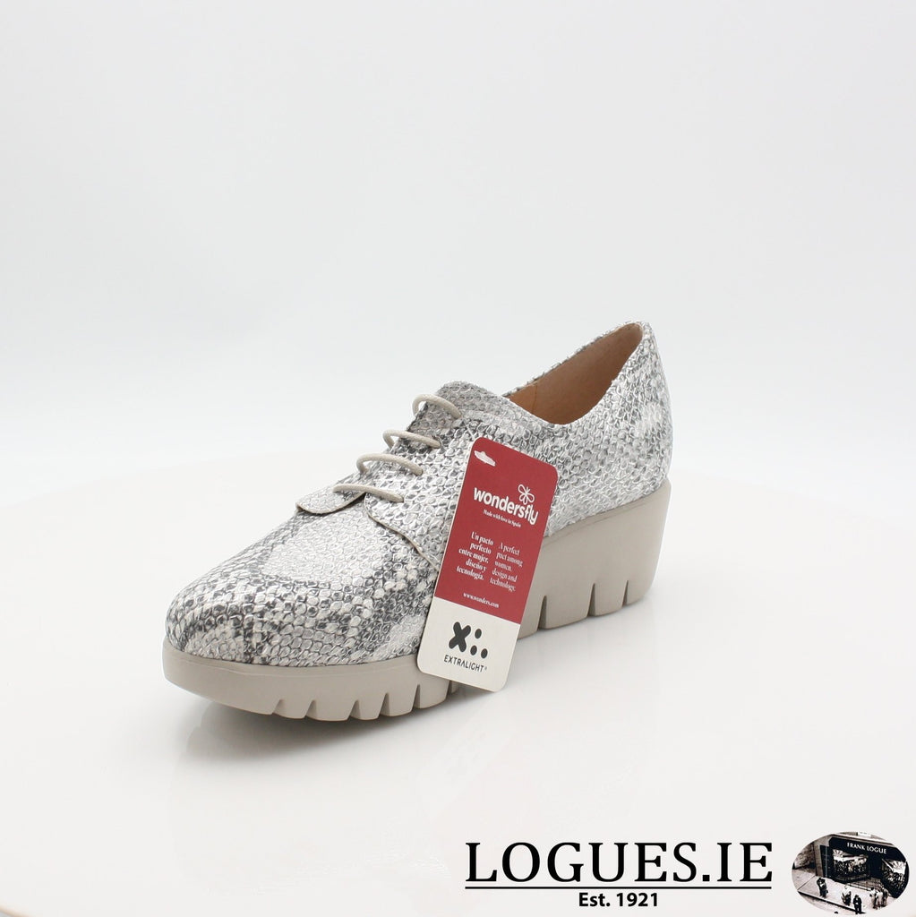 C33153 WONDERS S19-Ladies-WONDERS-PITONE PLATA-5.5 UK - 38.5/39 EU - 7.5 US-Logues Shoes