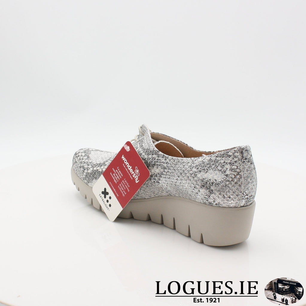 C33153 WONDERS S19-Ladies-WONDERS-PITONE PLATA-6.5 UK - 40 EU -8.5 US-Logues Shoes
