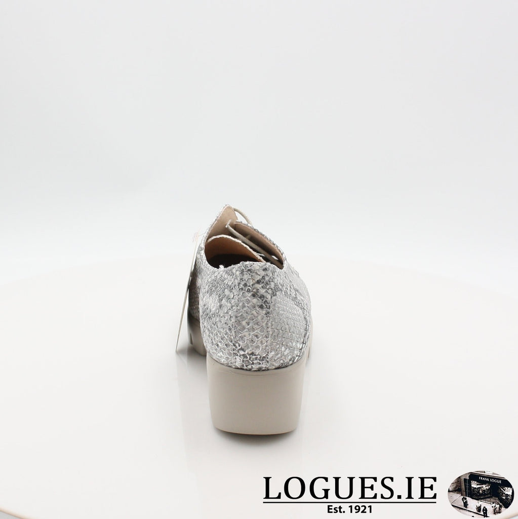 C33153 WONDERS S19-Ladies-WONDERS-PITONE PLATA-7 UK- 41 EU - 9 US-Logues Shoes
