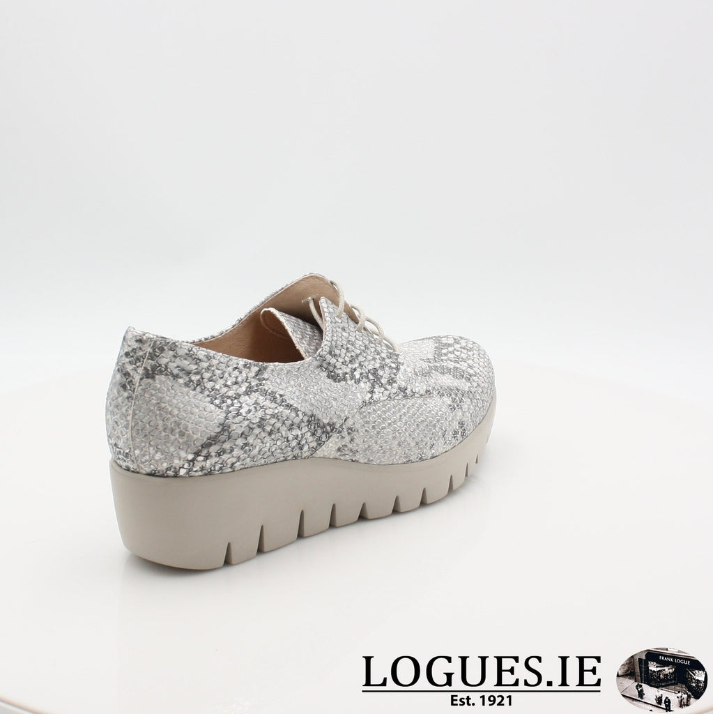 C33153 WONDERS S19-Ladies-WONDERS-PITONE PLATA-7.5 UK 41.5 EU - 9.5 US-Logues Shoes