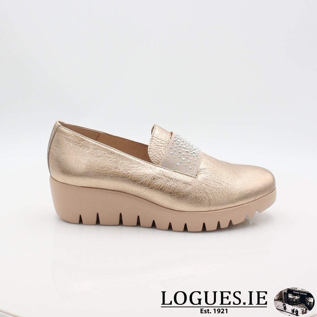 C33158 WONDERS S19-Ladies-WONDERS-WASH ORO-4 UK -37 EU - 6 US-Logues Shoes