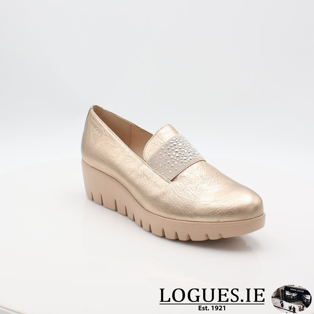 C33158 WONDERS S19-Ladies-WONDERS-WASH ORO-4.5 UK - 37.5 EU - 6.5 US-Logues Shoes
