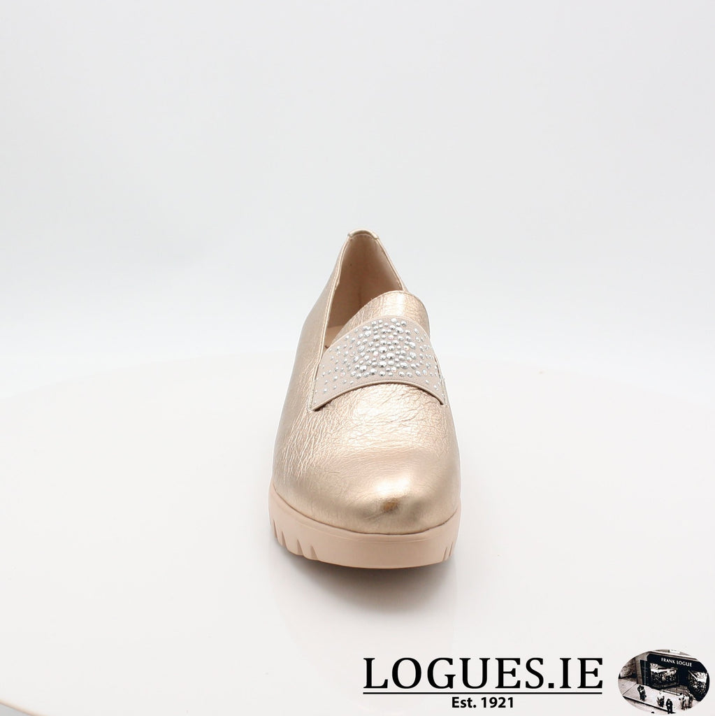 C33158 WONDERS S19-Ladies-WONDERS-WASH ORO-5 UK- 38 EU- 7 US-Logues Shoes