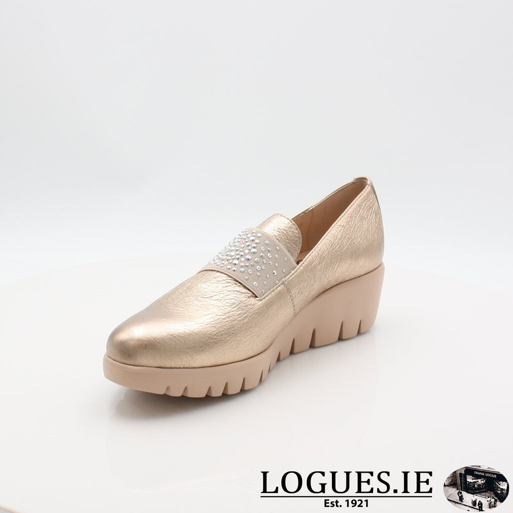 C33158 WONDERS S19-Ladies-WONDERS-WASH ORO-5.5 UK - 38.5/39 EU - 7.5 US-Logues Shoes