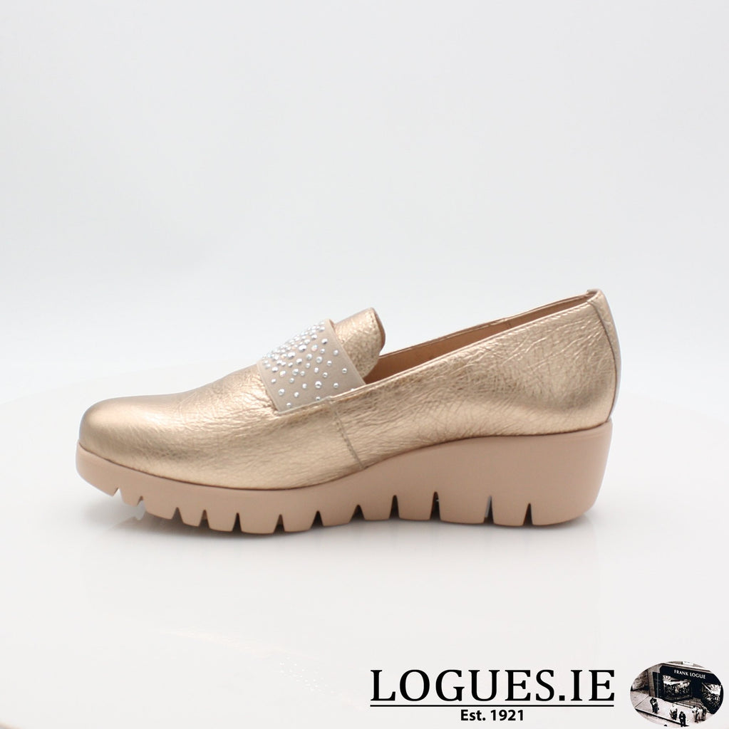C33158 WONDERS S19-Ladies-WONDERS-WASH ORO-6 UK- 39 EU - 8 US-Logues Shoes