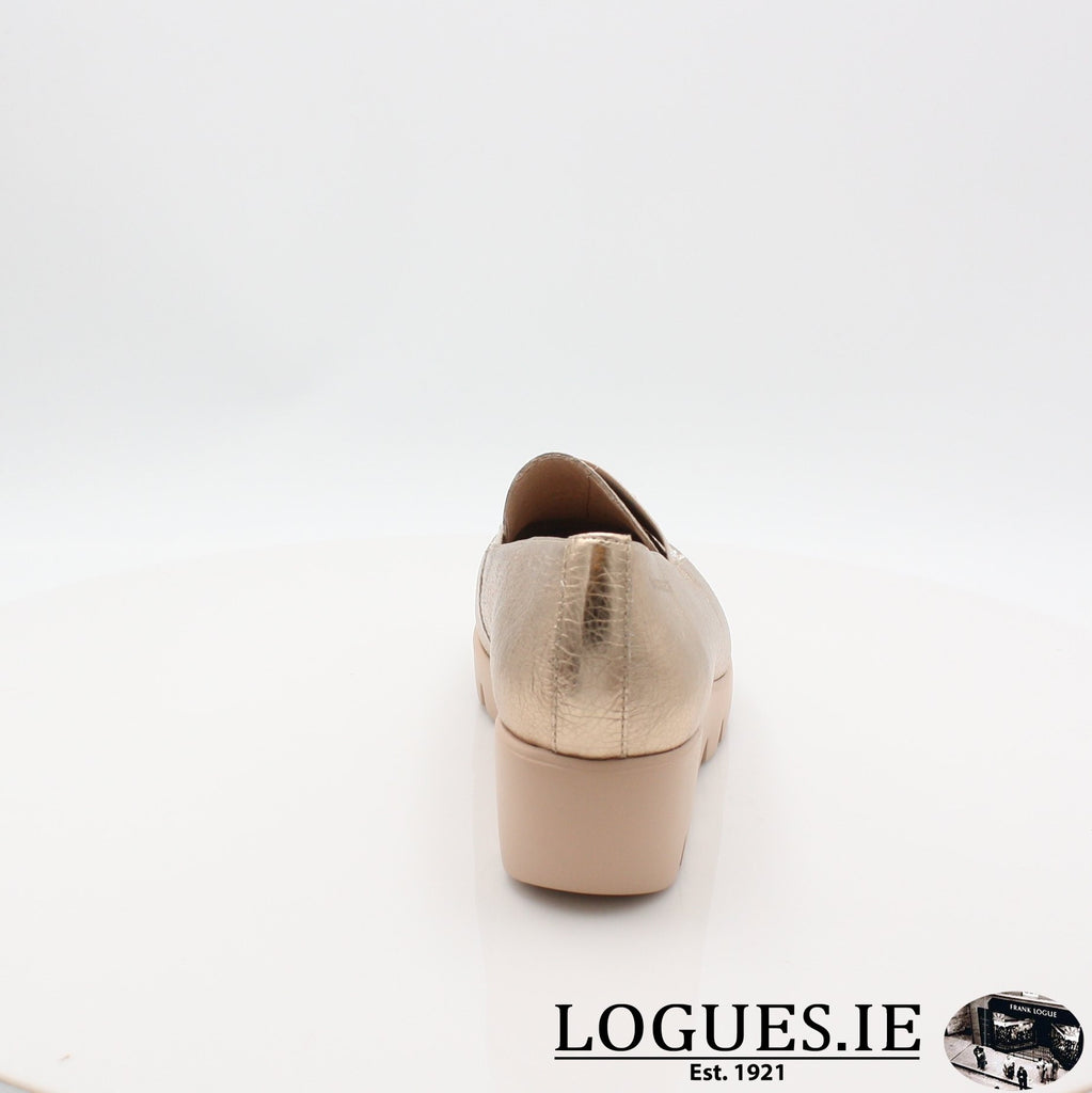 C33158 WONDERS S19-Ladies-WONDERS-WASH ORO-7 UK- 41 EU - 9 US-Logues Shoes