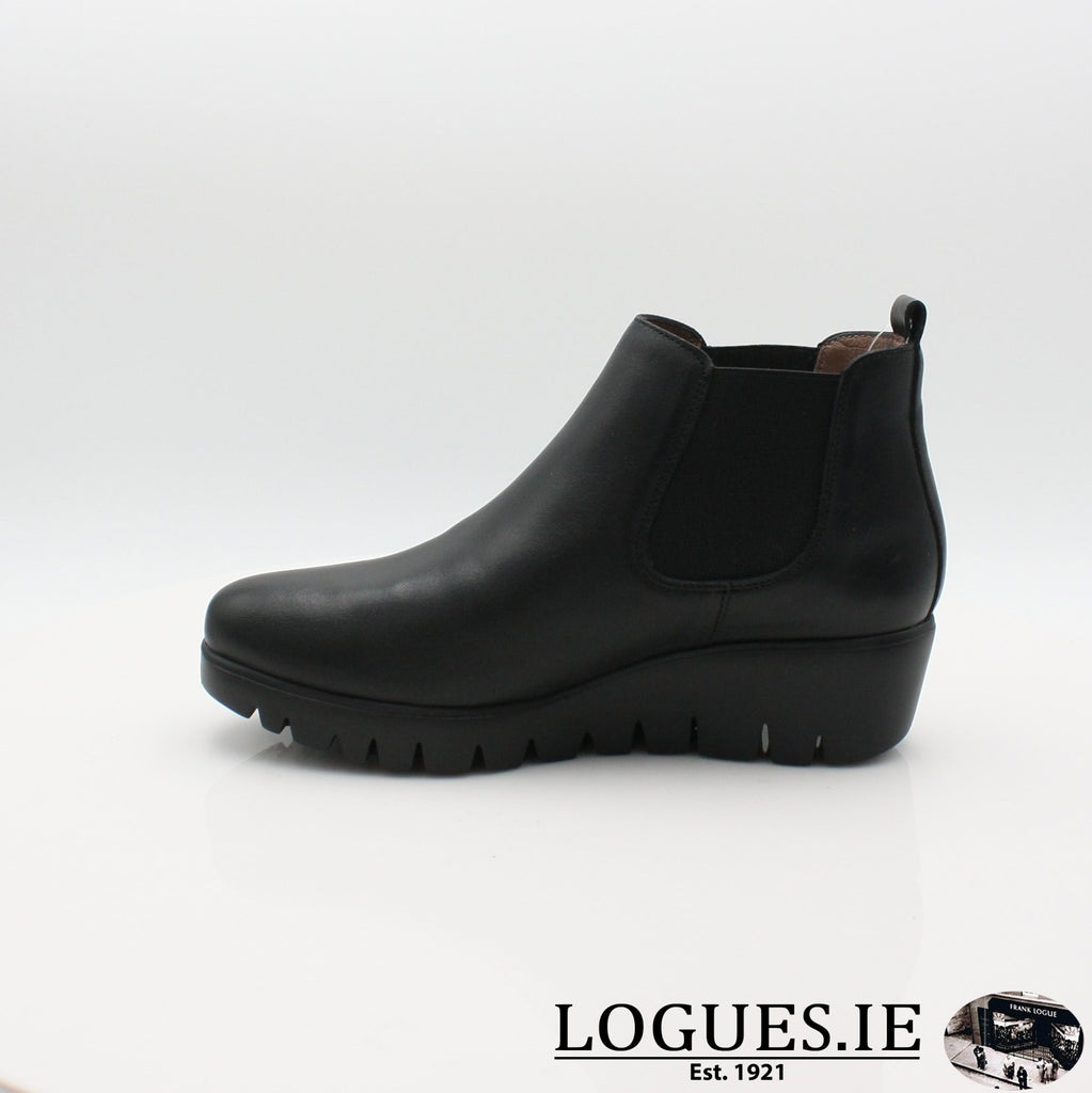 C-33173 WONDERS 19BOOTSLogues ShoesVELVET NEGRO / 6.5 UK - 40 EU -8.5 US