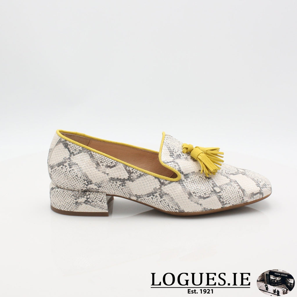 C5024 WONDERS S19-Ladies-WONDERS-HUKA NEUTRO/ LEMON-4 UK -37 EU - 6 US-Logues Shoes