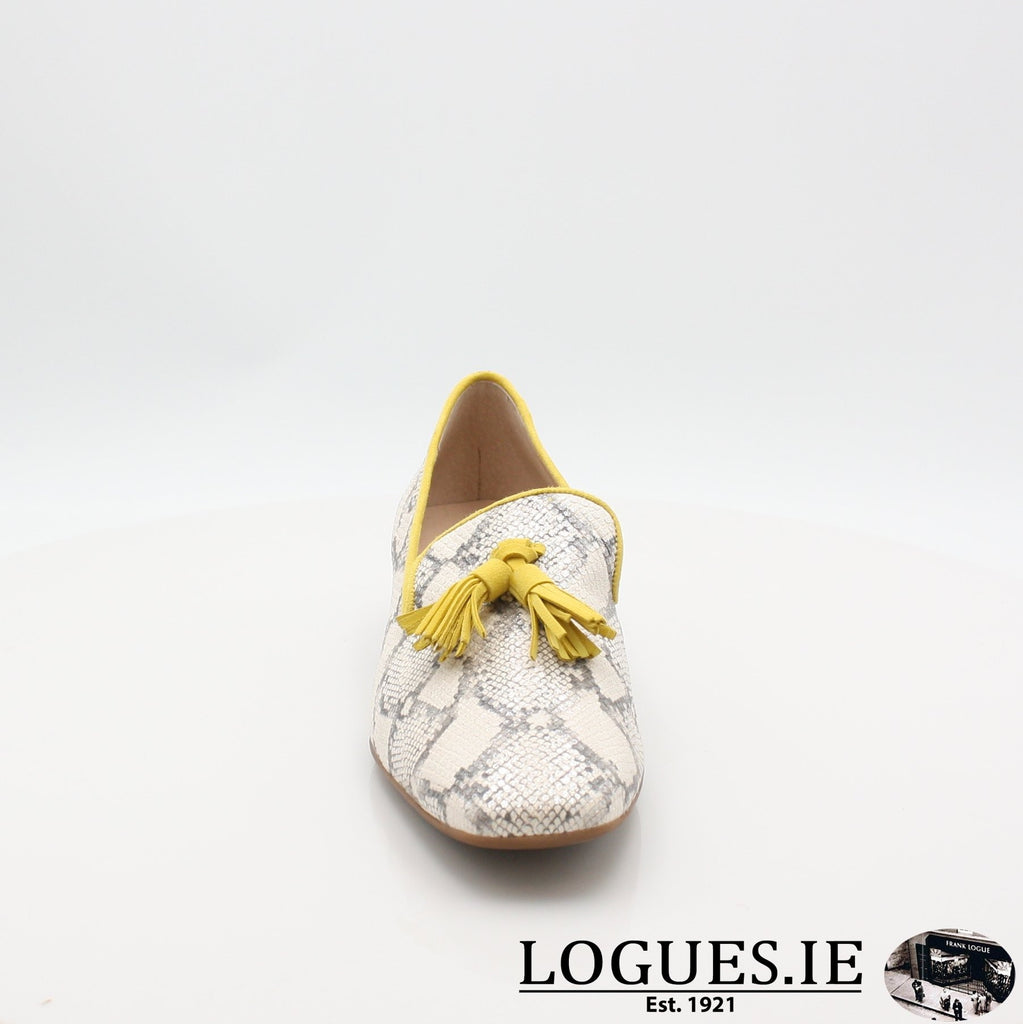 C5024 WONDERS S19-Ladies-WONDERS-HUKA NEUTRO/ LEMON-5 UK- 38 EU- 7 US-Logues Shoes