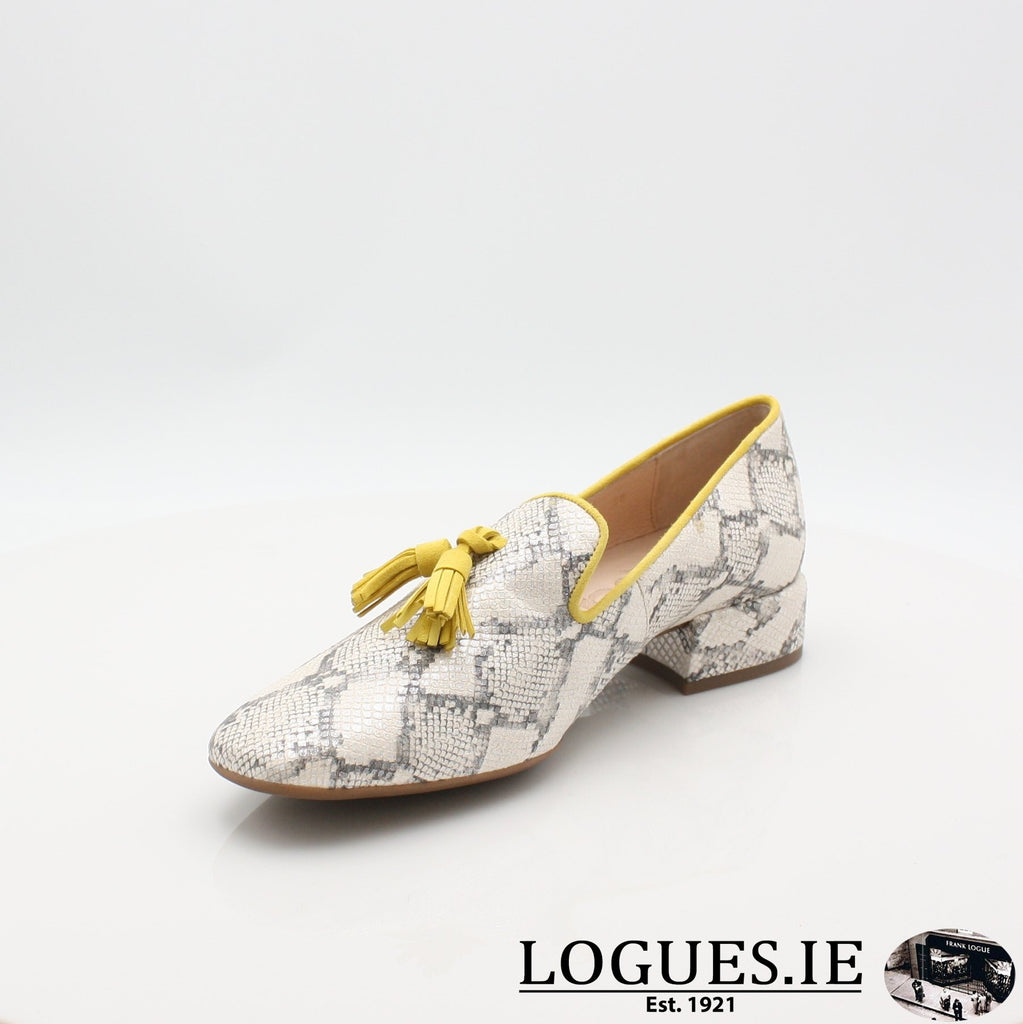 C5024 WONDERS S19-Ladies-WONDERS-HUKA NEUTRO/ LEMON-5.5 UK - 38.5/39 EU - 7.5 US-Logues Shoes
