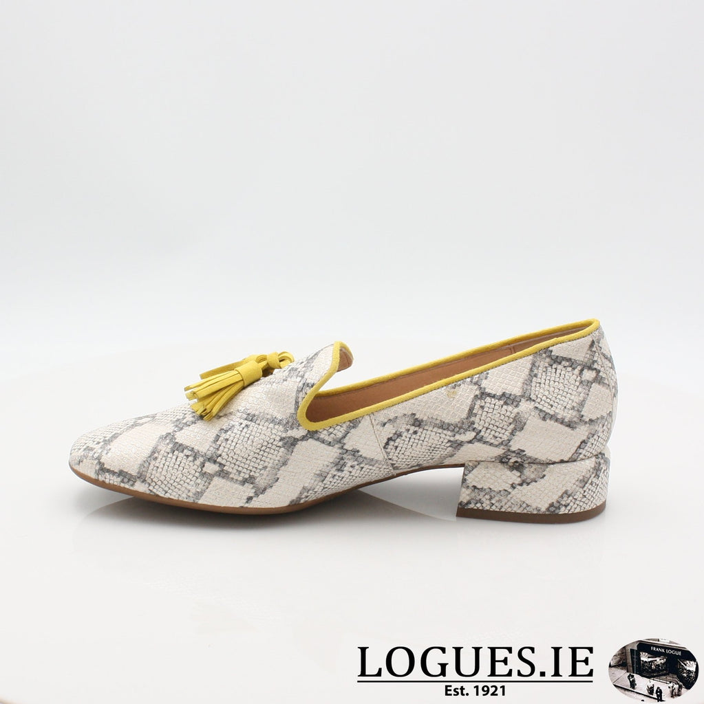 C5024 WONDERS S19-Ladies-WONDERS-HUKA NEUTRO/ LEMON-6 UK- 39 EU - 8 US-Logues Shoes