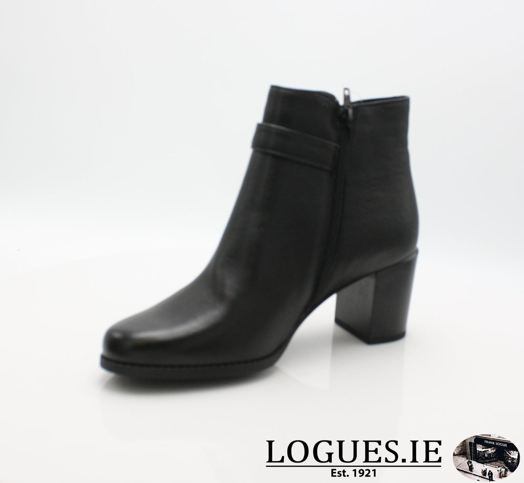 CHARLEE DUBARRY W18LadiesLogues ShoesBLACK / 39 = 6 UK