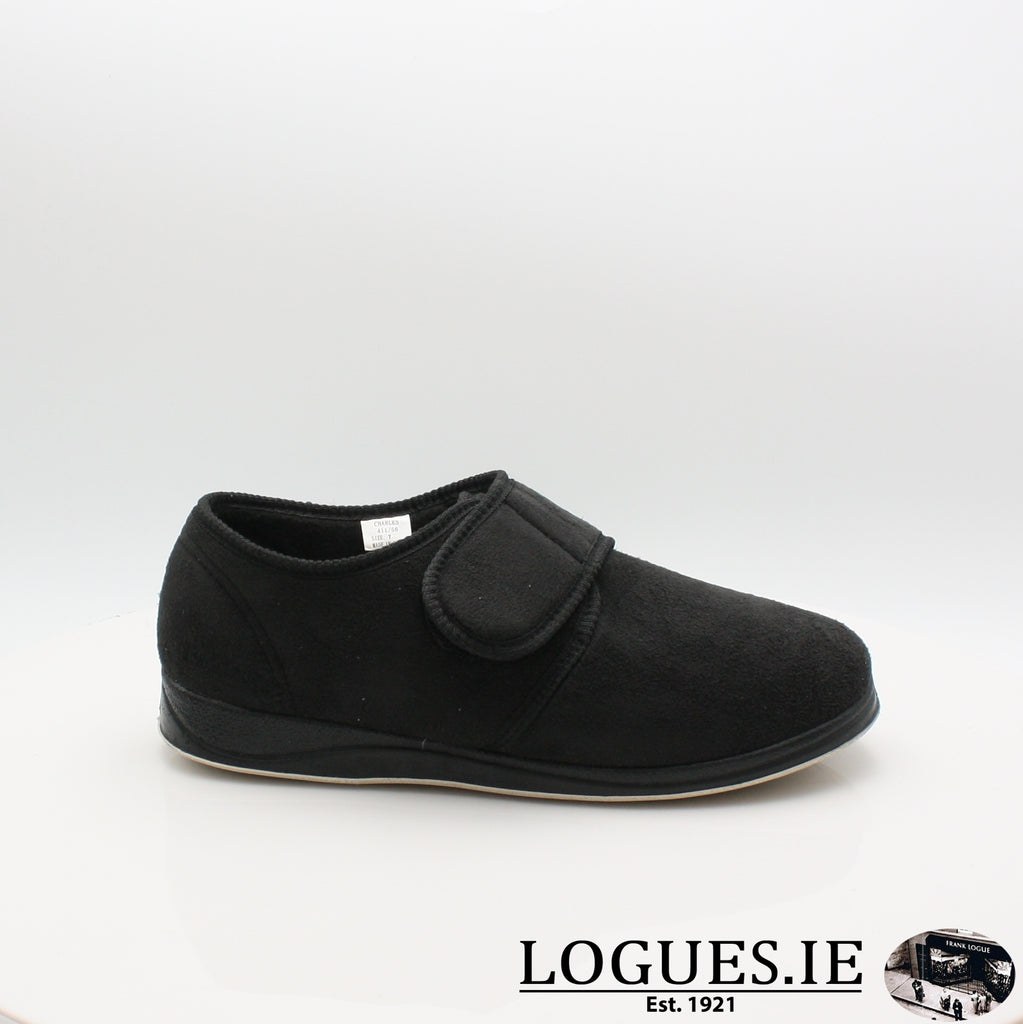 CHARLES PADDERS SLIPPER, Mens, Padders, Logues Shoes - Logues Shoes.ie Since 1921, Galway City, Ireland.