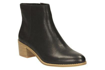 CLA Breccan MythLadiesLogues ShoesBlack Leather / 085 / D
